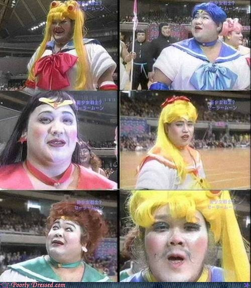The Sailor Scouts Sure Have Aged....