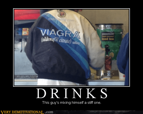 drinks hilarious viagra wtf