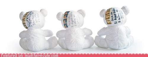 bear fabric mail paper teddy bear write - 5888761344