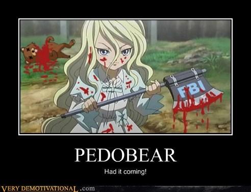 anime axe hilarious pedobear wtf - 5889101568