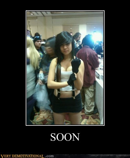 cosplay hilarious photobomb SOON tifa - 5889141760