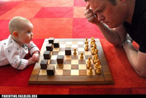 baby,chess,winner