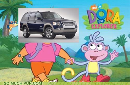 car dora the explorer explorer literalism model nickelodeon shoop vehicle - 5889340672