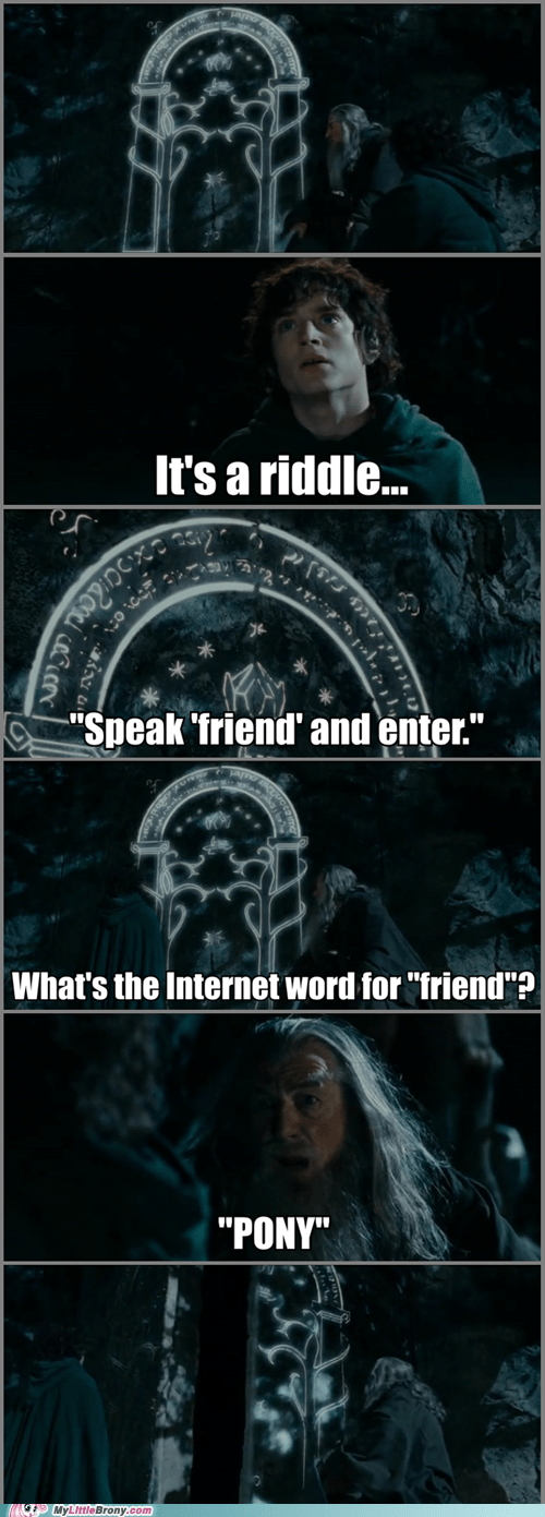comic comics friends Lord of the Rings love and tolerate - 5889444096