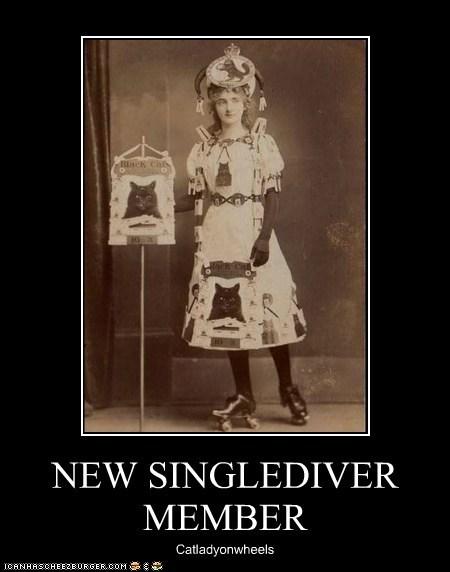 NEW SINGLEDIVER MEMBER Catladyonwheels