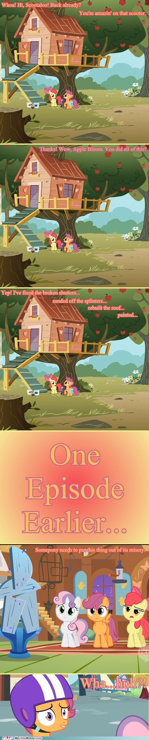 apple bloom cmc comic comics cutie mark crusaders Scootaloo - 5892199168