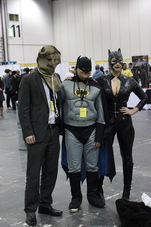 batman,catwoman,comic con,costume,scarecrow
