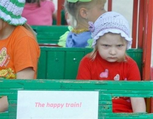 All a-bored,omg-adorbz,The Happy Train