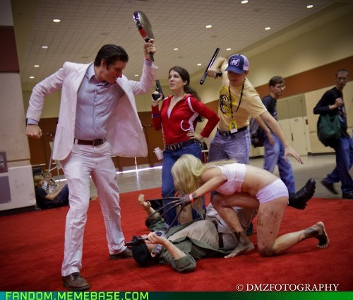 cosplay Left 4 Dead video games witch - 5892628224