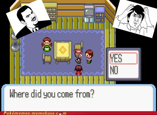 dafuq gameplay question where did you come from yesno - 5893713408