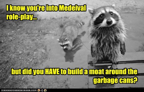 I know you're into Medeival role-play...