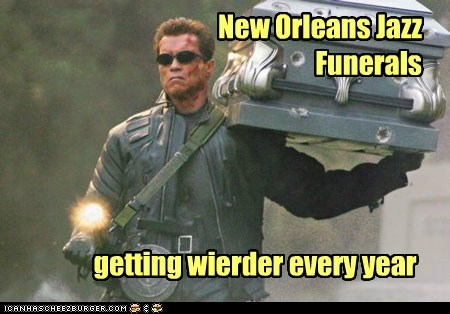 New Orleans Jazz Funerals getting wierder every year