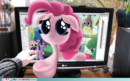 4th wall art pinkie pie ponies - 5894429184