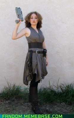 cosplay doctor who River Song Whovian - 5894452992