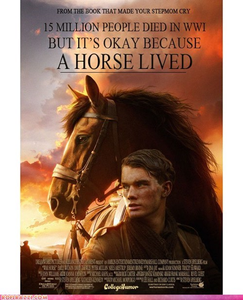 academy awards funny Movie oscars poster shoop War Horse - 5894770688