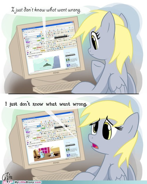 comics derpy hooves i-just-dont-know-what-went-wrong redub save derpy the last roundup - 5895216640