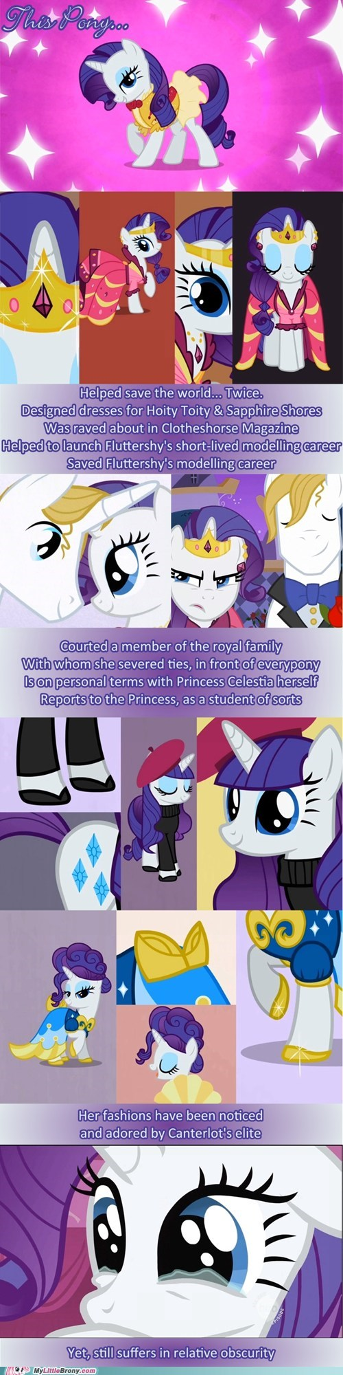 How is it she has to introduce herself to everypony?