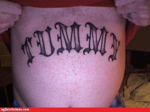 bodyparts bush stomach tattoo tummy why - 5895757568