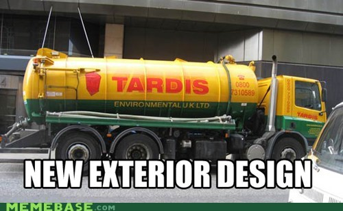 design doctor who Memes phone booth tardis truck - 5895812352