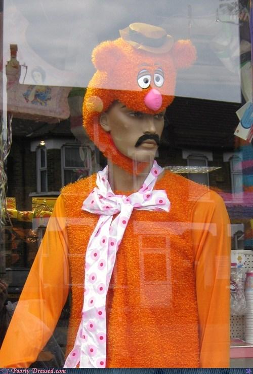 costume fozzy bear freddie mercury mannequin queen - 5896191232