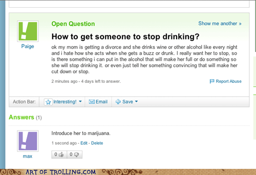 drinking,marijuana,pot,yahoo answers,weed