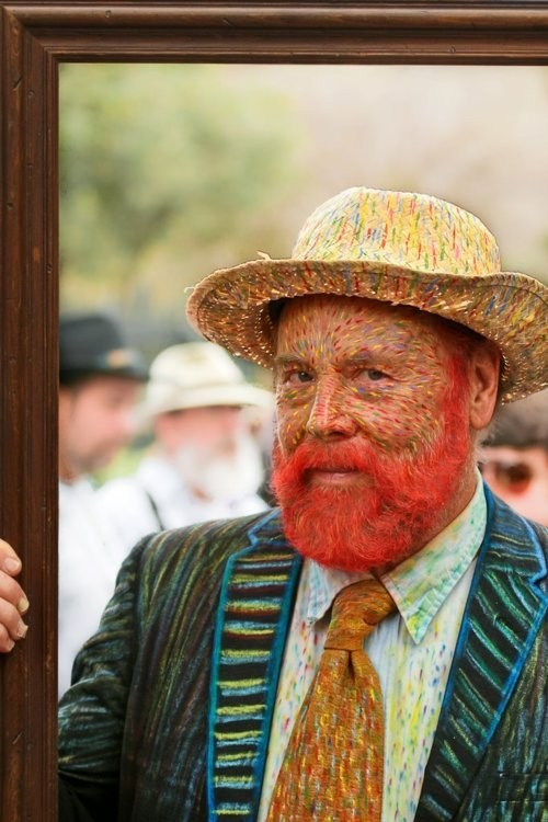 Kickass Cosplay,Mardi Gras,Vincent van Gogh