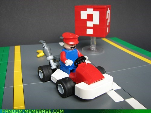 Fan Art legos Mario Kart video games - 5897137664