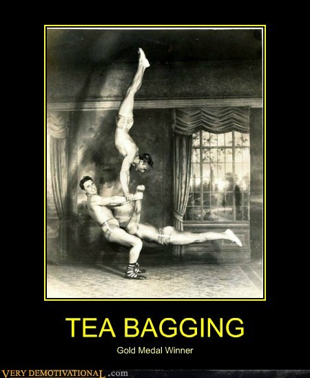 hilarious tea bagging winner wtf - 5897287424