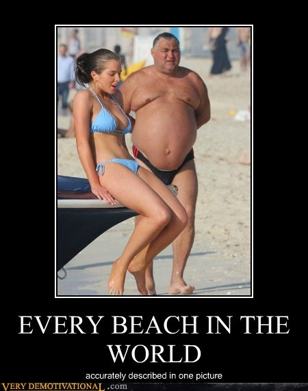 every beach in the world very demotivational demotivational