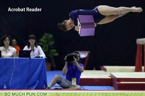 acrobat adobe computer double meaning gymnast literalism program reader semantics - 5897421824