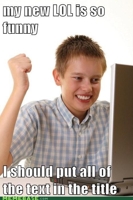 funny lols Net Noob text title - 5898420736
