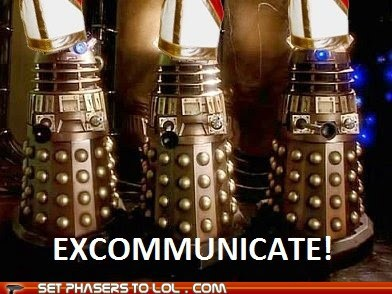 best of the week catholic church daleks doctor who excomunicate Exterminate pope - 5898508800