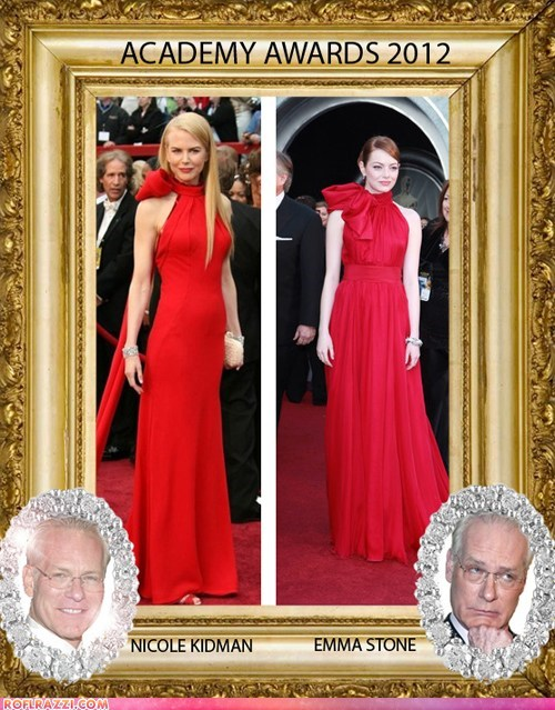 Tim Gunn's Fashion Frame: Nicole Kidman vs Emma Stone