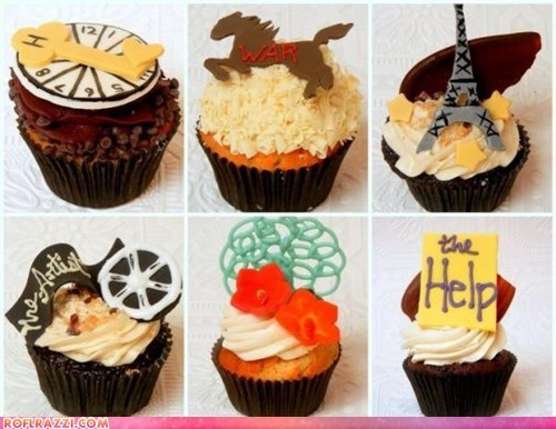 academy awards best picture cupcakes foods oscars - 5898850560