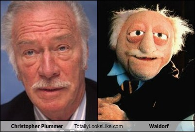 actor,christopher plummer,funny,TLL,Waldorf
