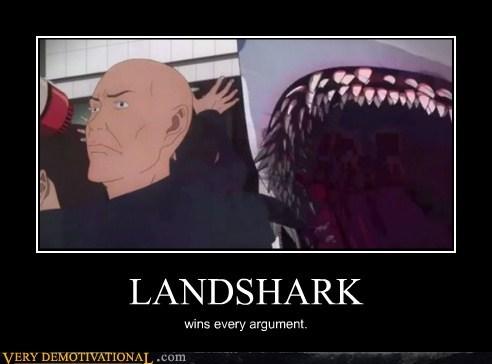 anime bizarre hilarious landshark wtf - 5899017216