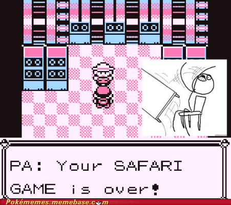 gameplay one step PA rage safari zone