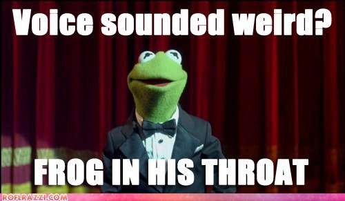 academy awards,frog in your throat,kermit,kermit the frog,oscars,voices