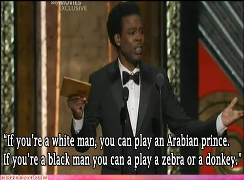 academy awards animals black people chris rock oscars race racism white people - 5899311104