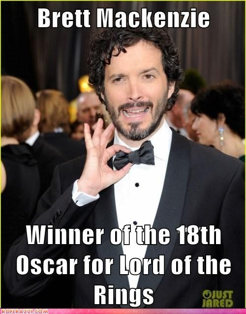 academy awards Bret McKenzie Lord of the Rings oscars winners - 5899418112