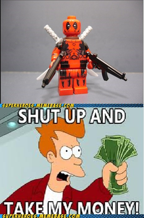 deadpool fry lego money Super-Lols - 5899624448