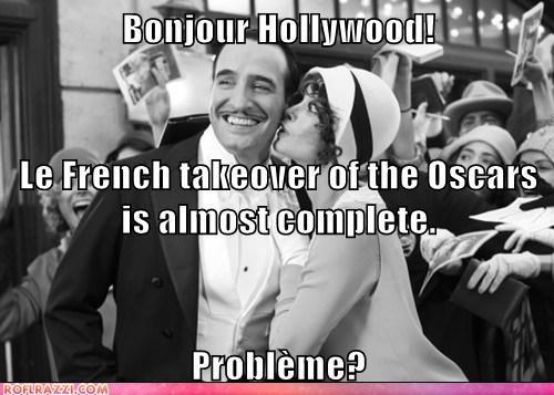 academy awards france Hall of Fame oscars problem the artist u mad winners - 5899646720