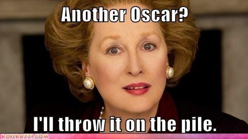 academy awards actor celeb funny Meryl Streep oscars - 5899674880