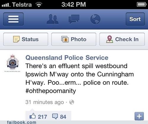 australia police poop Professional At Work - 5899921408