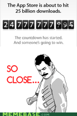 25 billion app store apple FAIL Rage Comics so close - 5900304128