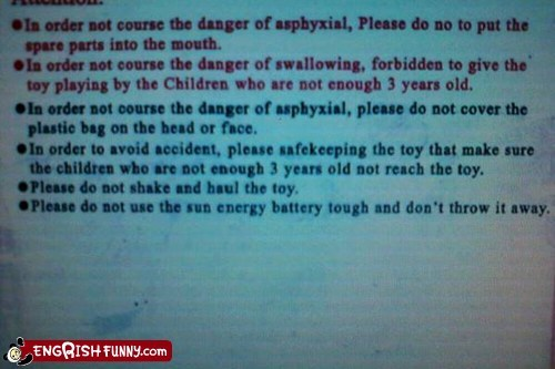 3 years old engrish warning - 5900788480
