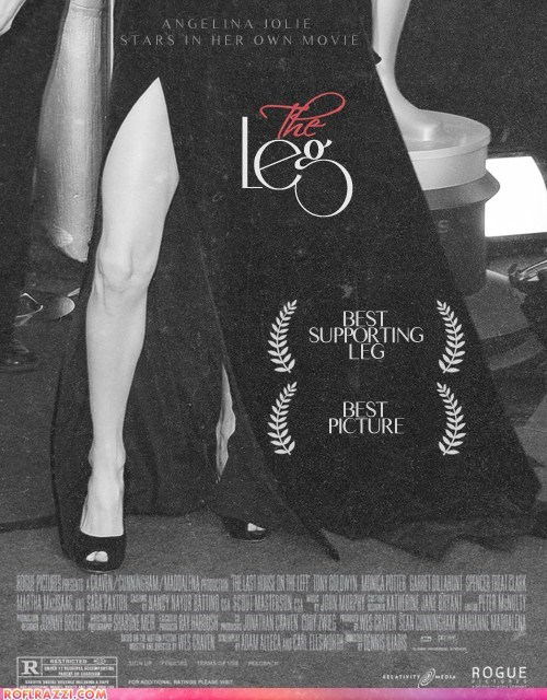 academy awards Angelina Jolie funny Movie oscars poster - 5901167104