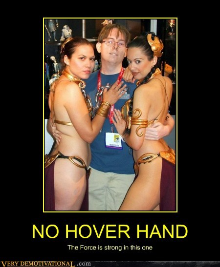 hilarious hover hand nerds Princess Leia Sexy Ladies wtf