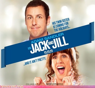 actor adam sandler Jack And Jill Movie razzie razzies - 5901302528