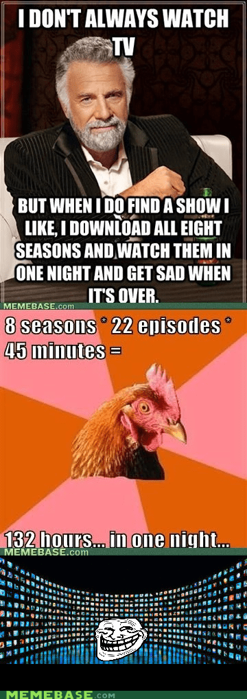 night sadness seasons television troll face - 5901348096
